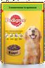 Pedigree 100г*24шт -паучи для взрослых собак с говядиной в желе
