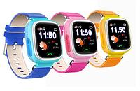 Q100 Детские GPS сенсорные часы-телефон Smart Baby Watch