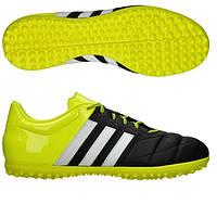 Сороконожки детские Adidas Ace 15.3 TF Leather JR