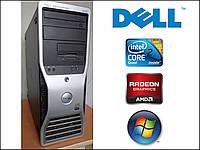 Игровой Dell Precision 390 - 4ЯДРА 4x2.4GHz / 4GB RAM / 300GB HDD / Radeon HD6670 1GB DDR5