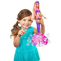 "Кукла Барби-русалка, ""Волшебные пузыри"""