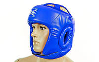 Шлем боксерский открытый  EVERLAST синий