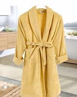 Махровый халат Irya Wellas Yellow размер l/xl