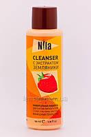 Nila Nila Cleanser Средство для снятия липкого слоя - Земляника, 250 мл