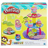 Набор для творчества и пластилин Башня кексов Play-Doh
