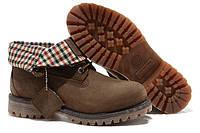 "Ботинки Timberland Roll-Top Boots ""Brown"" - ""Коричневые"""