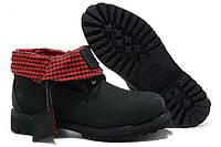 "Ботинки Timberland Roll-Top Boots ""Black"" - ""Черные"""