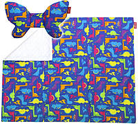 Подарочный набор Dwinguler Butterfly Dino подушка и одеяло для коляски (PDNNB1000)