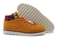 Мужские кроссовки Adidas NEO Rugged (Адидас) желтые