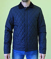 Мужская спортивная куртка MBROVNO 1879 темно -синий код 277б