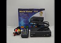 Цифровой эфирный тюнер Т2 World Vision T37
