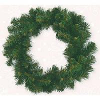 """Искусственный Венок """"Рождественский"""" Новогодько d-17,5 см без украшений (мини ) Новогодько"""