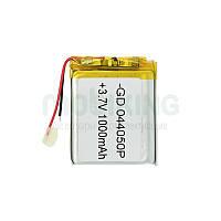 Литий-полимерная батарея 044050P (1000mAh) универсальный аккумулятор для техники.