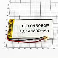 Литий-полимерная батарея 045080P (1800mAh) универсальный аккумулятор для техники.