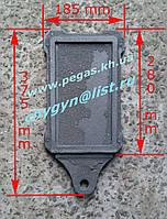 Задвижка печная, чугунное литье (125х230 мм)