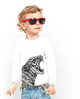 """Лонгслив для мальчика с карманом """"BiBi Tiger""""; 3, 4, 5, 6-7, 8-9, 10-11, 12-13 лет"""