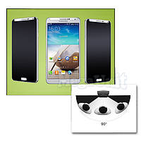 Anti Spy Защитное стекло для экрана Samsung Galaxy J7 (j700) анти-шпион (с фильтром конфиденциальности)