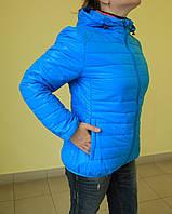 Женская куртка ботал Remaın 8089-50 голубая код 2070А