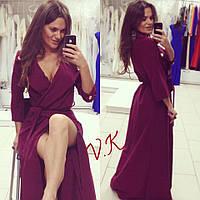 Женское стильное платье-кардиган (расцветки)