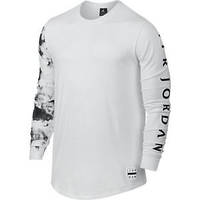 Лонгслив Nike Jordan Printed Dreams 802297-100