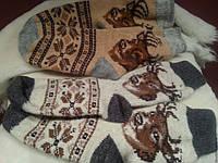 Теплые мужские носки из овчины - разные  размеры