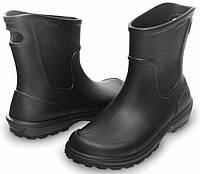 Сапоги мужские резиновые литые дождевики CROCS Work Wellie Rain Boot