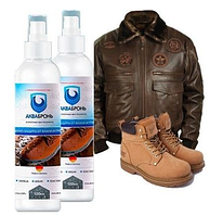 Аквабронь для обуви. Водоотталкивающий спрей для защиты от воды и грязи!