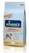 Advance (Эдванс) Dog Sensitive, 12 кг., корм для взрослых, привередливых к питанию собак