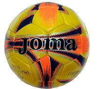 Мяч футбольный №5 Joma Yellow Original (полиуретан)