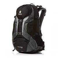 Велосипедный рюкзак Deuter Trans Alpine 30L, black-granite