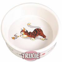 Trixie (Трикси) Миска керамическая для кошек 200мл*11см