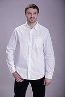 Белая рубашка, длинный рукав MONTANA