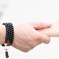 Браслет Бяньши - украшение из черного нефрита для здоровья