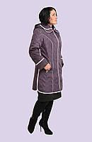 Женская зимняя куртка больших размеров 52-60 модель 3