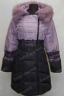 Зимняя куртка женская  на замке с капюшоном