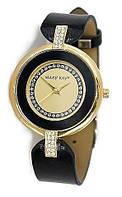 Часы женские в золотистой оправе Mary Kay (Мери Кей) с кристаллами Swarovski