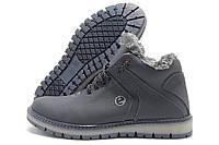 Ботинки мужские Ecco Lorandi зимние темно-синие (экко)
