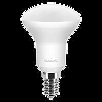 LED Светодиодная Рефлекторная Лампа R50 5W E14 GLOBAL 400lm,3000k