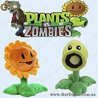 """Игрушки из Plants vs Zombies - """"Plants Toys"""". Большой размер - 30 см."""