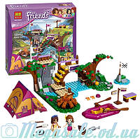 """Конструктор Bela Friends """"Спортивный лагерь: сплав по реке"""": 325 деталей, 2 фигурки (аналог Lego Friend)"""
