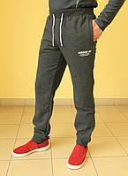 Мужские спортивные штаны Adidas 7255 серый код 381б