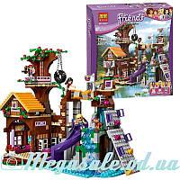 """Конструктор Bela Friends """"Спортивный лагерь: дом на дереве"""": 739 деталей, 3 фигурки (аналог Lego Friend)"""