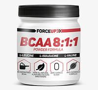 Аминокислоты БЦАА BCAA 8:1:1 (500 г) ForceUp