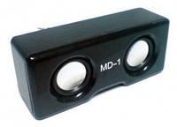 Портативная музыкальная колонка MD-1, Nokia, пластик, мощность 6 W, 14х6х7 см, mini-jack