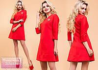 """Модное, практичное платье-туника """"Шалли"""" (трикотаж, длина выше колен, рукава 3/4) РАЗНЫЕ ЦВЕТА!"""