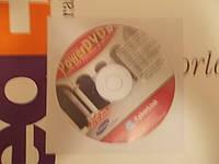 Диск CD-ROM CyberLink Power DVD XP