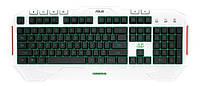 Клавиатура игровая ASUS Cerberus Artic USB UKR