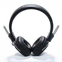 Наушники гарнитура Remax RM-100H с микрофоном, регулятором громкости и кнопкой ответа, Черная