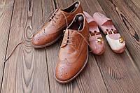 Мужские туфли броги Next, made in England, 24.5 см, 39 размер. Код: 025.