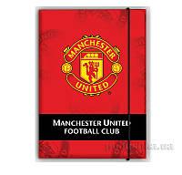 Папка на резинке Kite Manchester United MU14-211K
